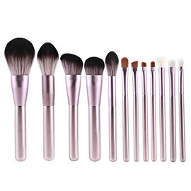 Luxury Custom Private Label Makeup Brushes , Mini Makeup Brushes 10 PCS