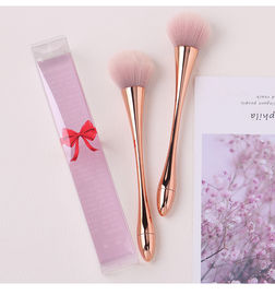 PU New Material Handle Wool Makeup Brushes Perfectly Shaped Brush Heads